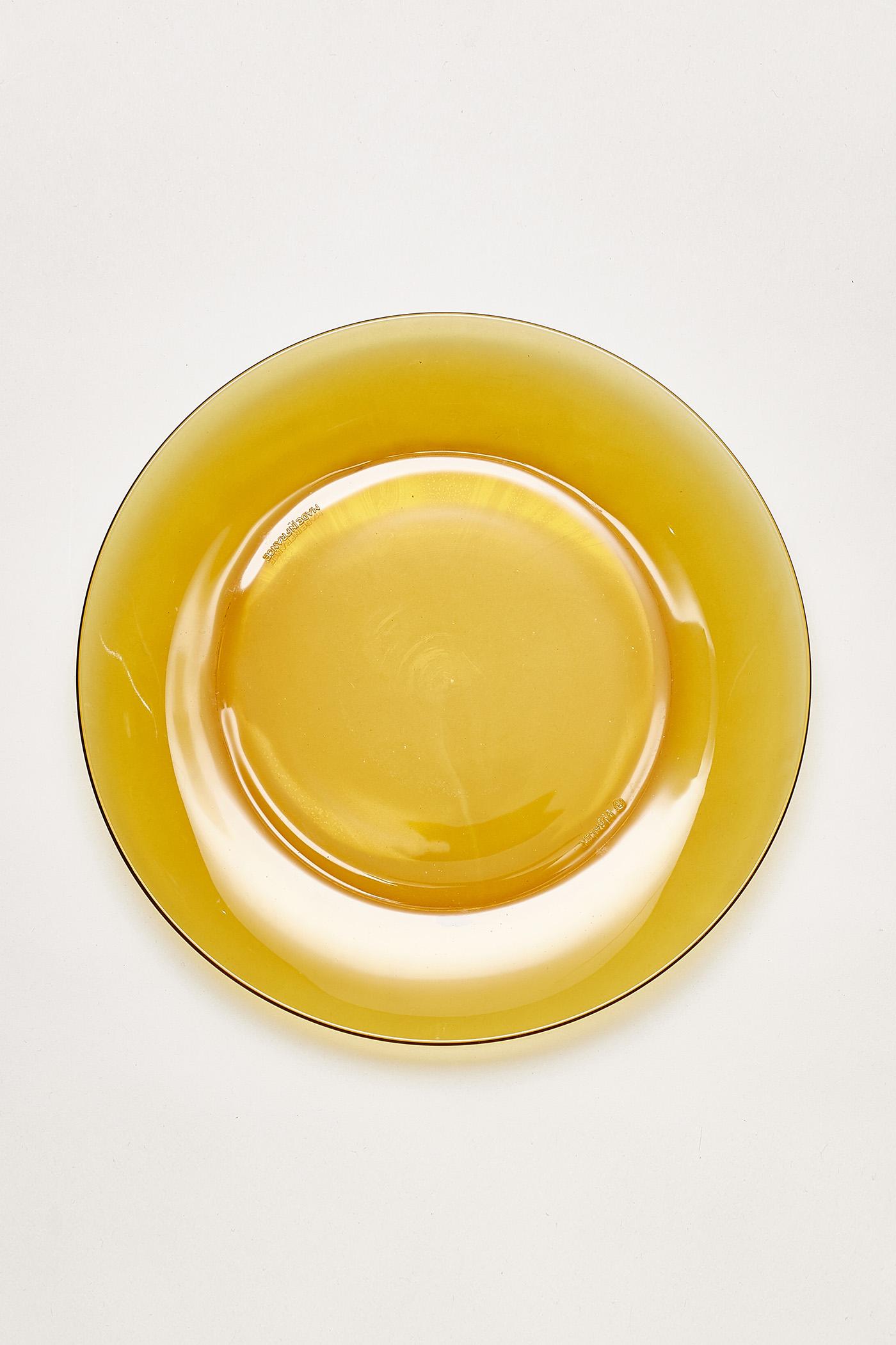 Duralex Amber Dinner Plate