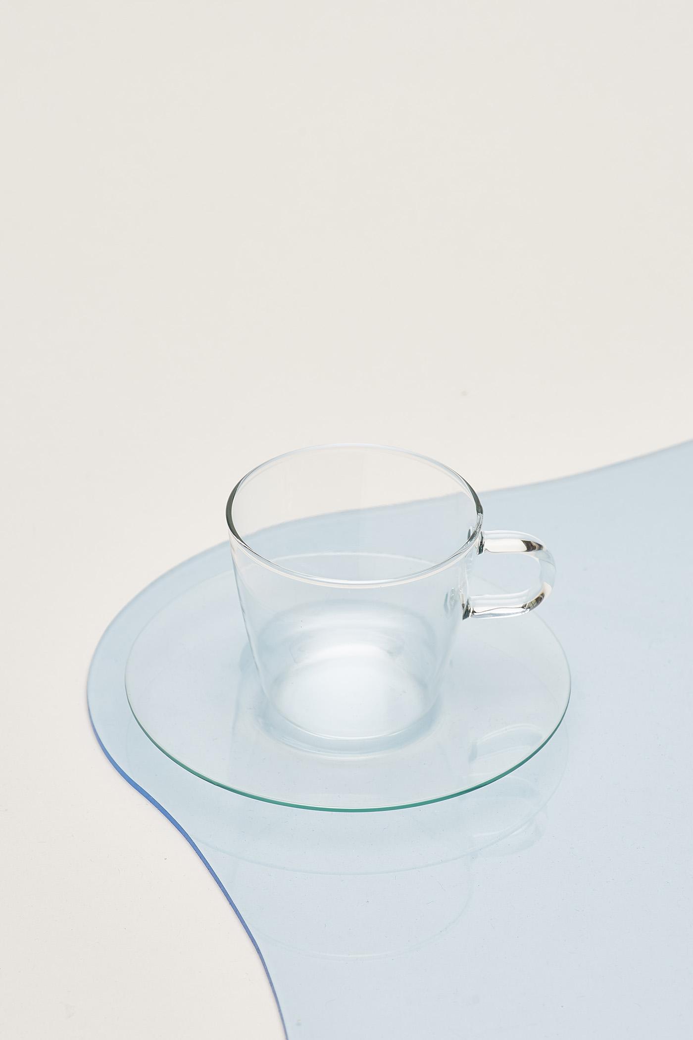 Trendglas Costa I Coffeeglass with Saucer