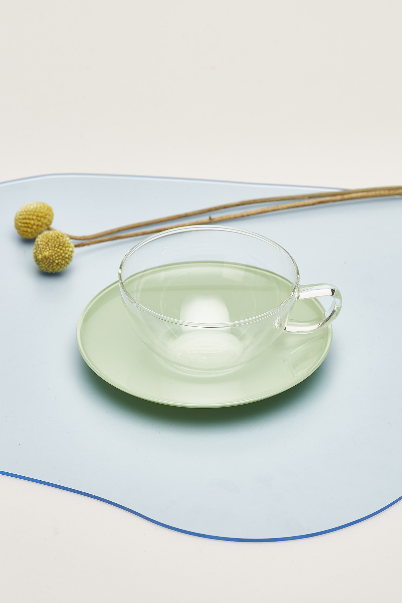 Trendglas Opus Cup with Saucer