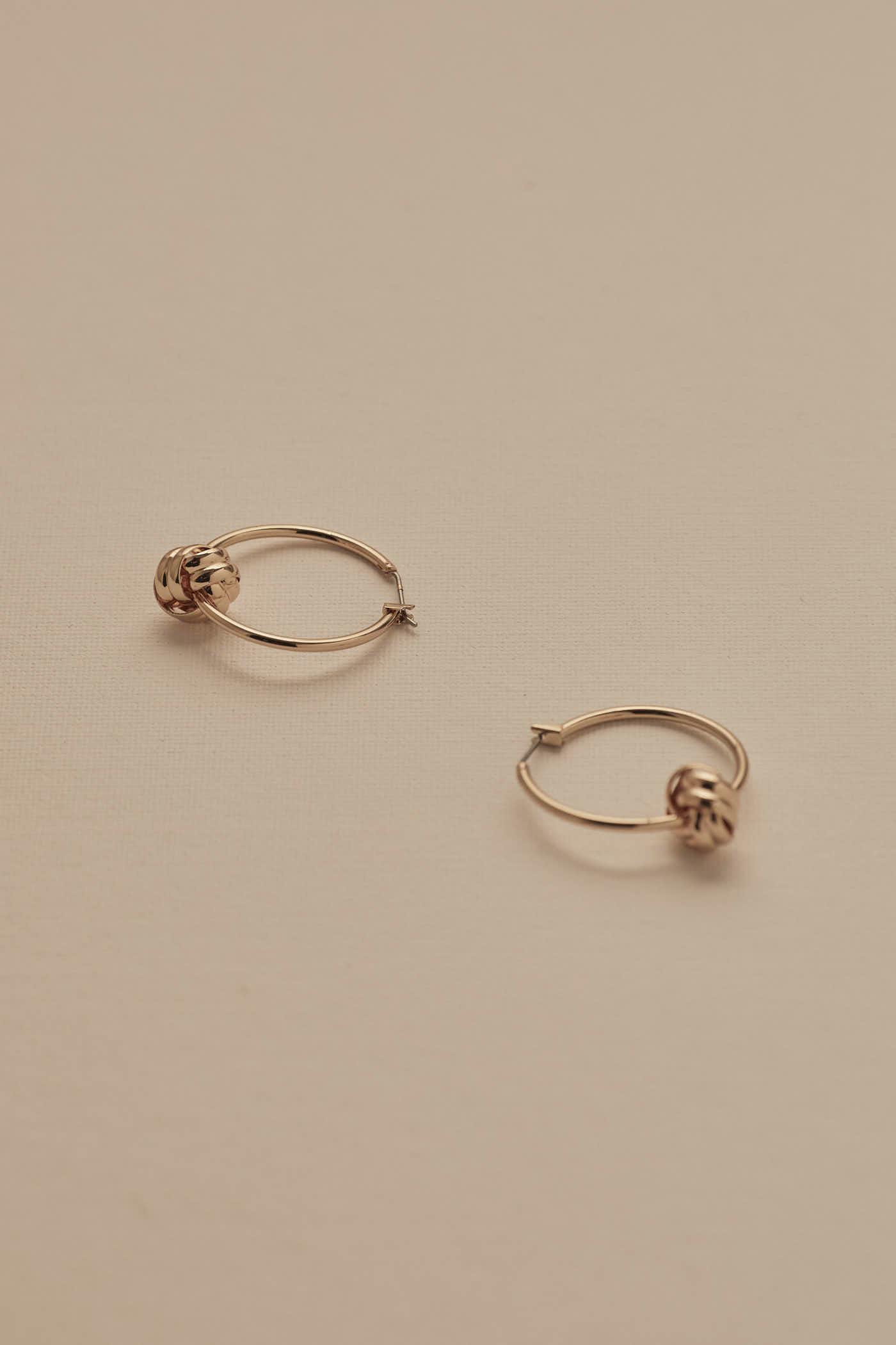 Stacy Hoop Earrings