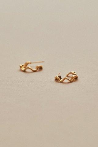 Lucille Hoop Earrings