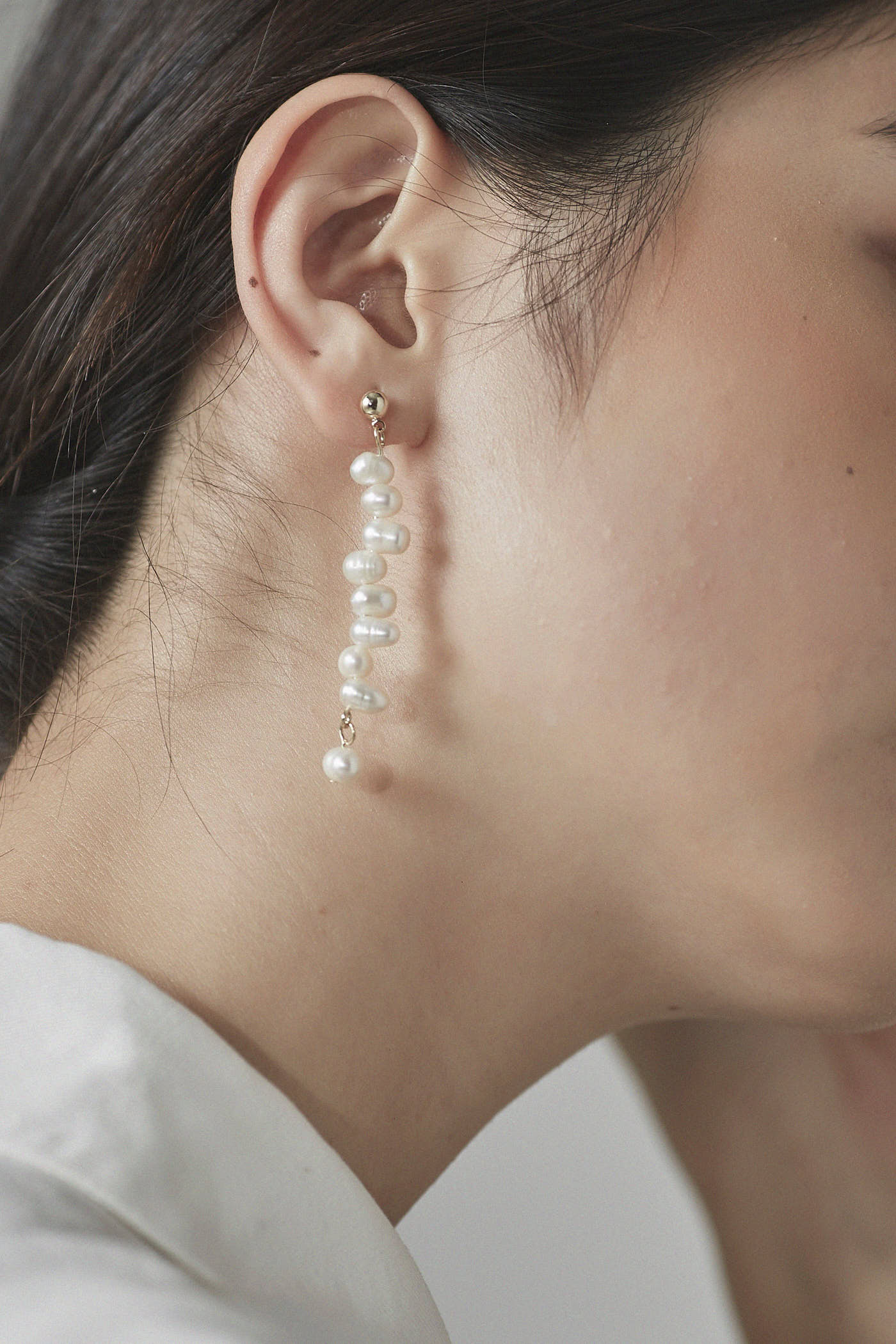 Alisa Pearl Drop Earrings