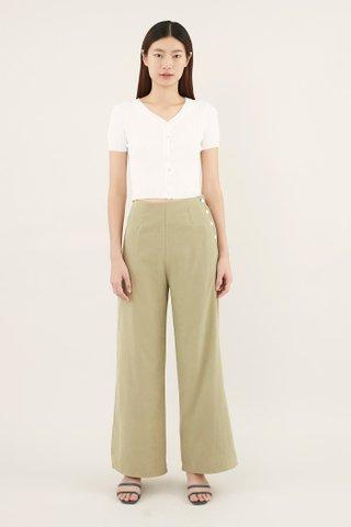 Jezel Side-button Pants