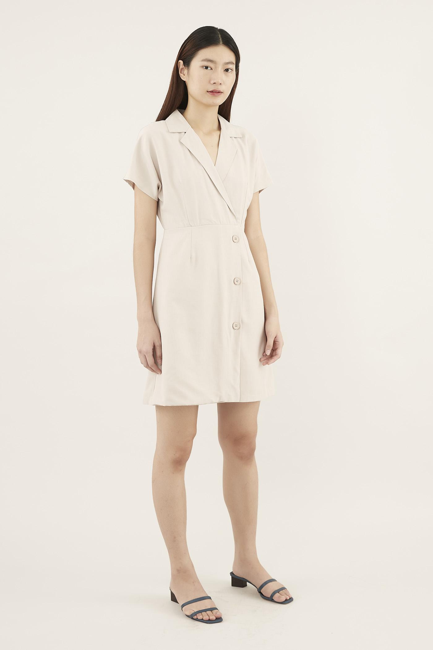 Jalene Collared Dress