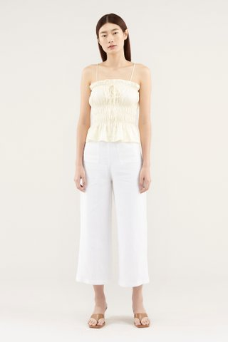 Chevelle Cinched-waist Top