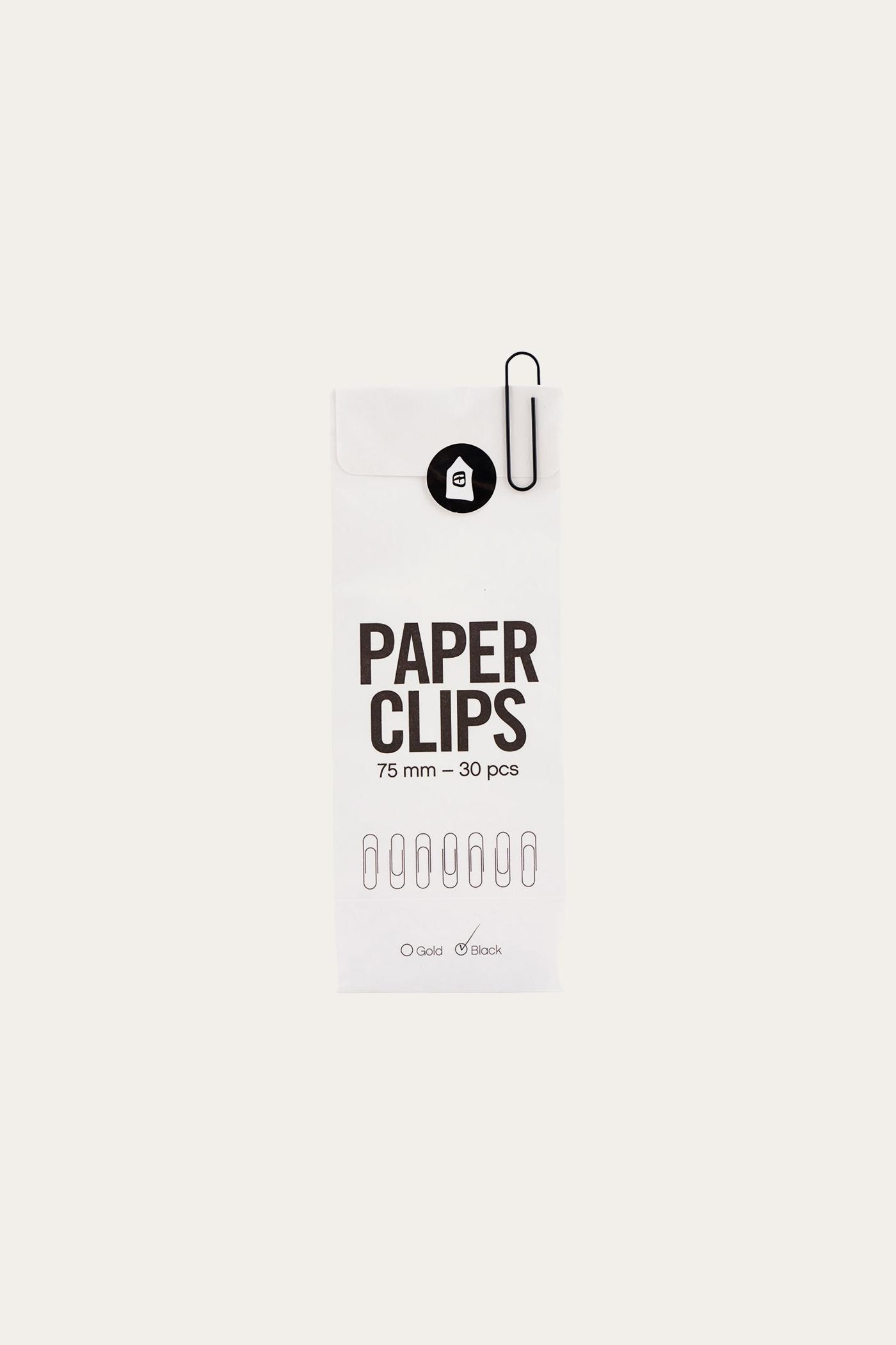 Monograph Paper Clip