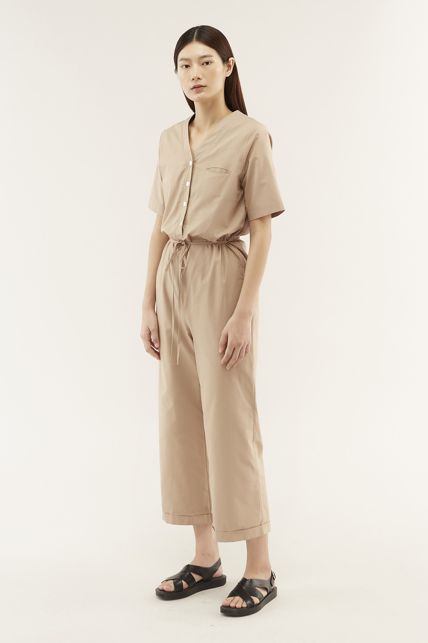Geneva Wide-leg Jumpsuit