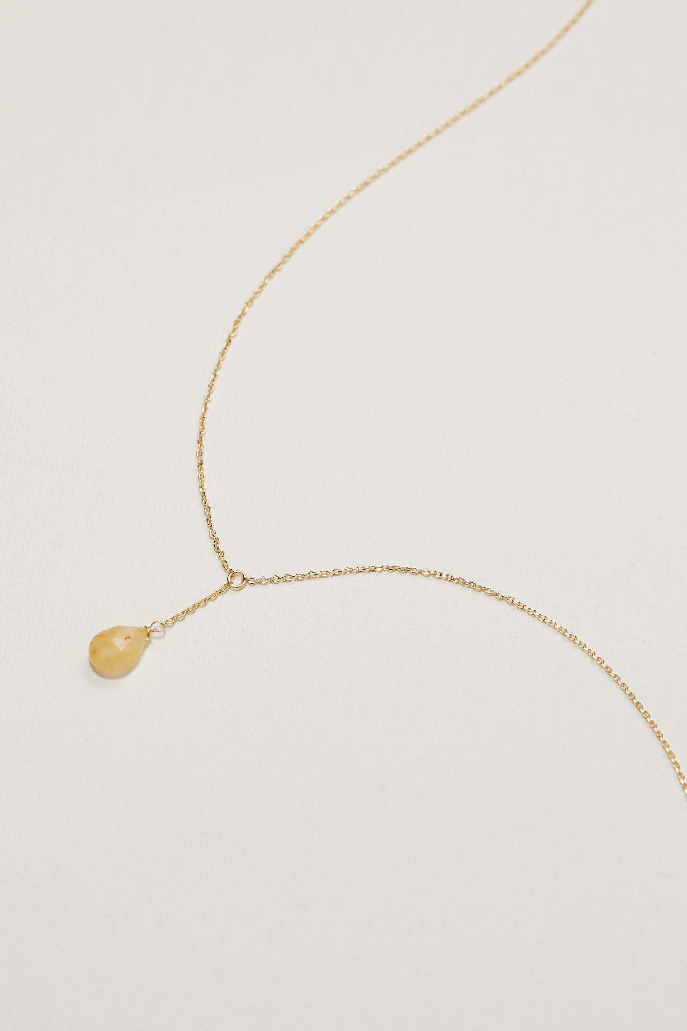 Giselle Drop Necklace