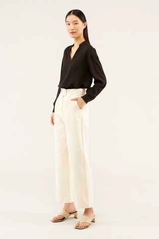 Lenna Stand-collar Blouse