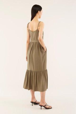 Kaisley Frill-hem Dress