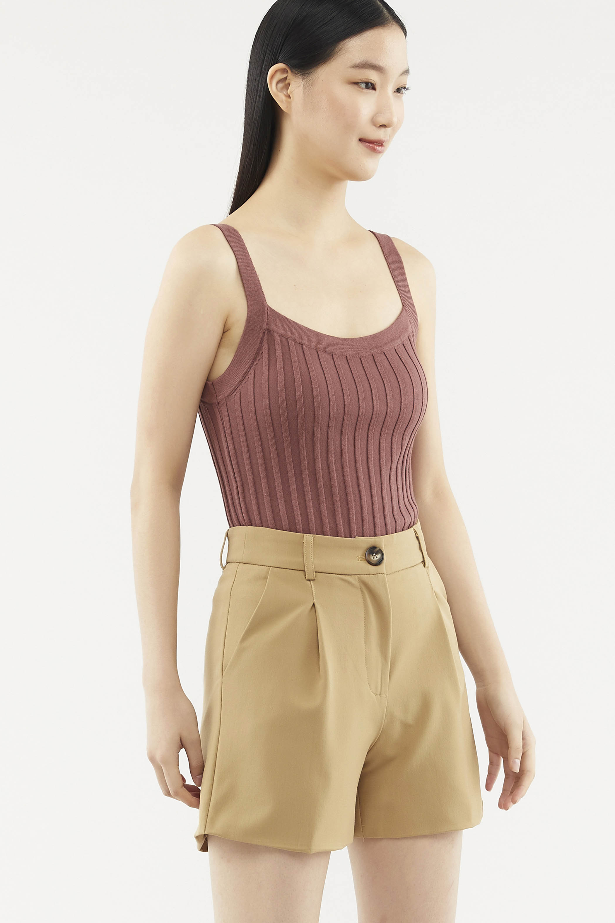 Raylee Ribbed Knit Top