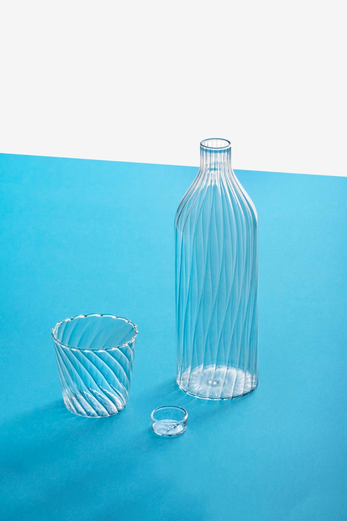 Ichendorf Venezia Ottico Bottle With Lid