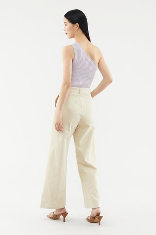 Leandra One-shoulder Knit Top