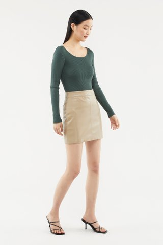 Ember Fitted Skirt