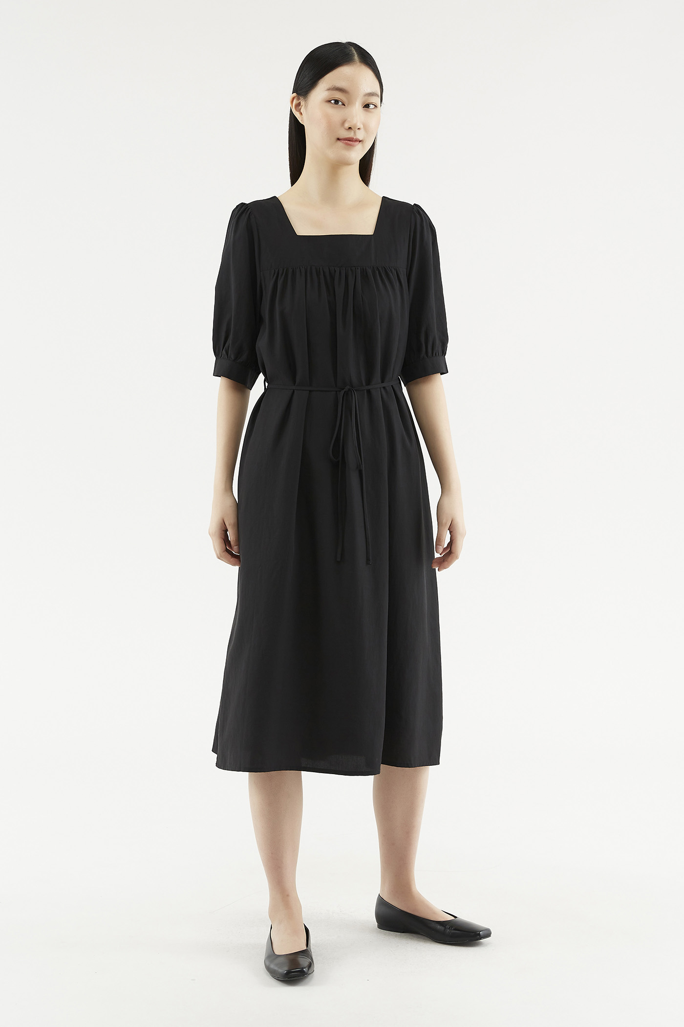 Katyna Puff-sleeve Dress