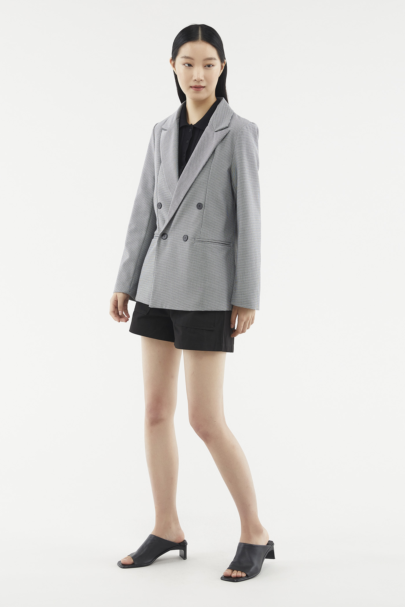 Chanice Double-breasted Blazer