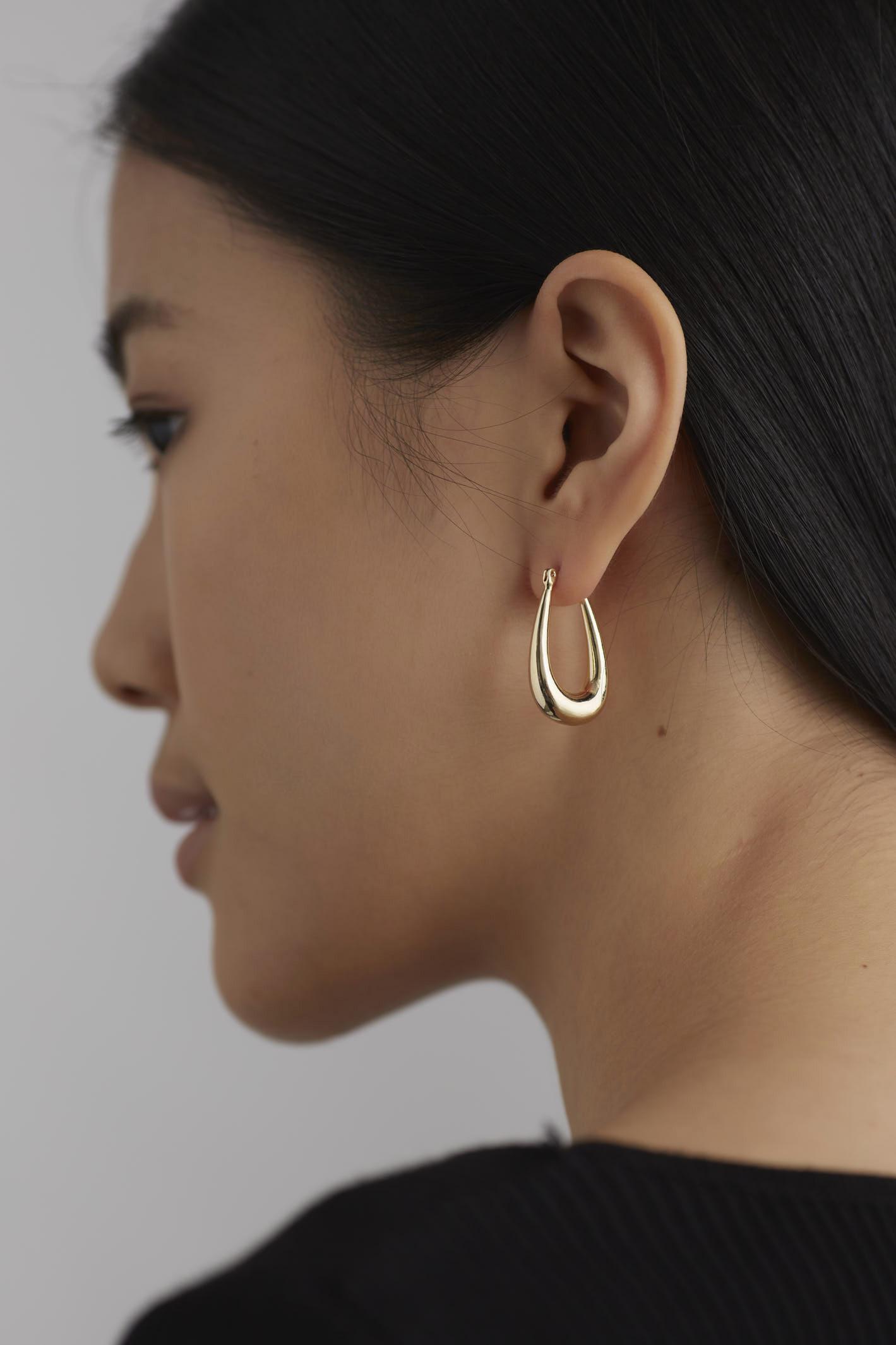 Rafeal Hoop Earrings