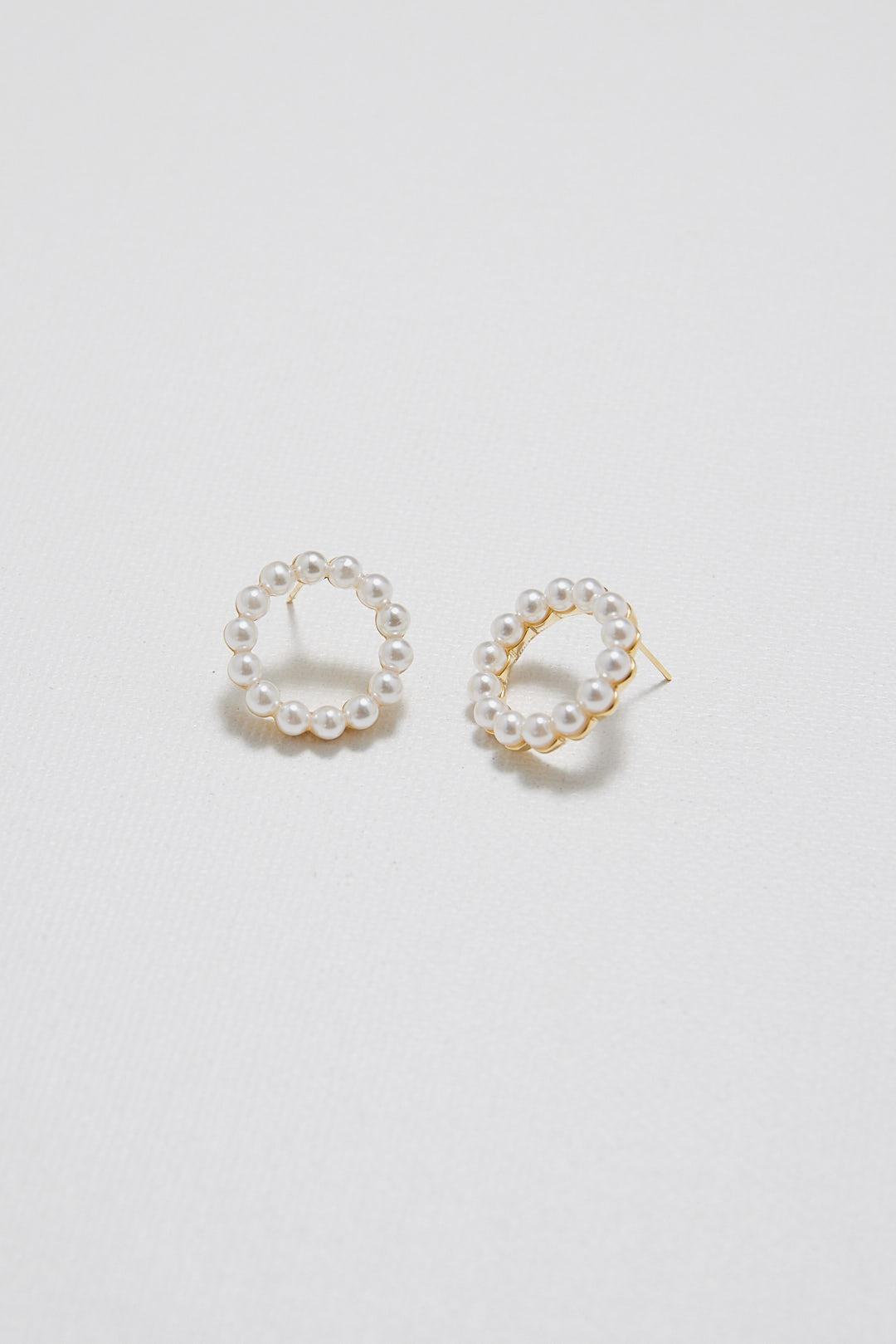 Darcie Pearl Earrings