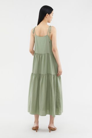 Calyda Tiered Maxi Dress