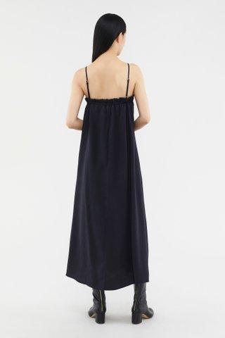 Dawina Ruched-back Dress