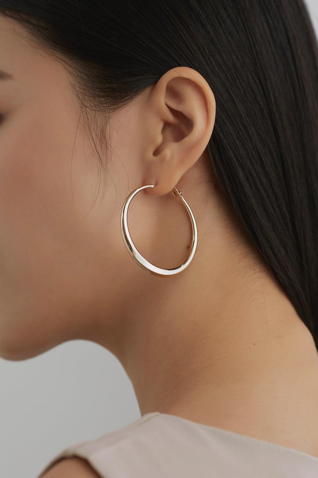 Micael Hoop Earrings