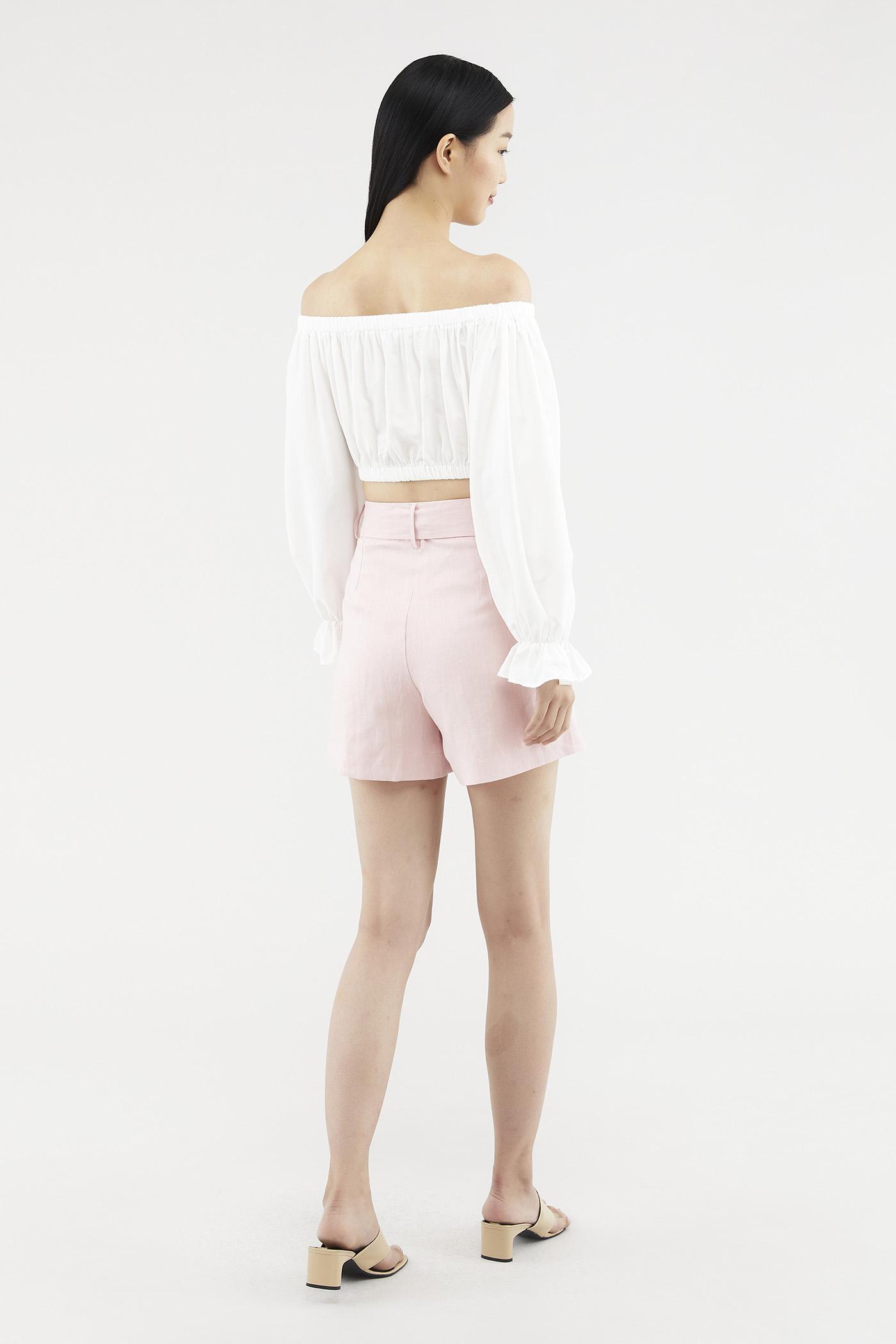 Silvia Linen Shorts