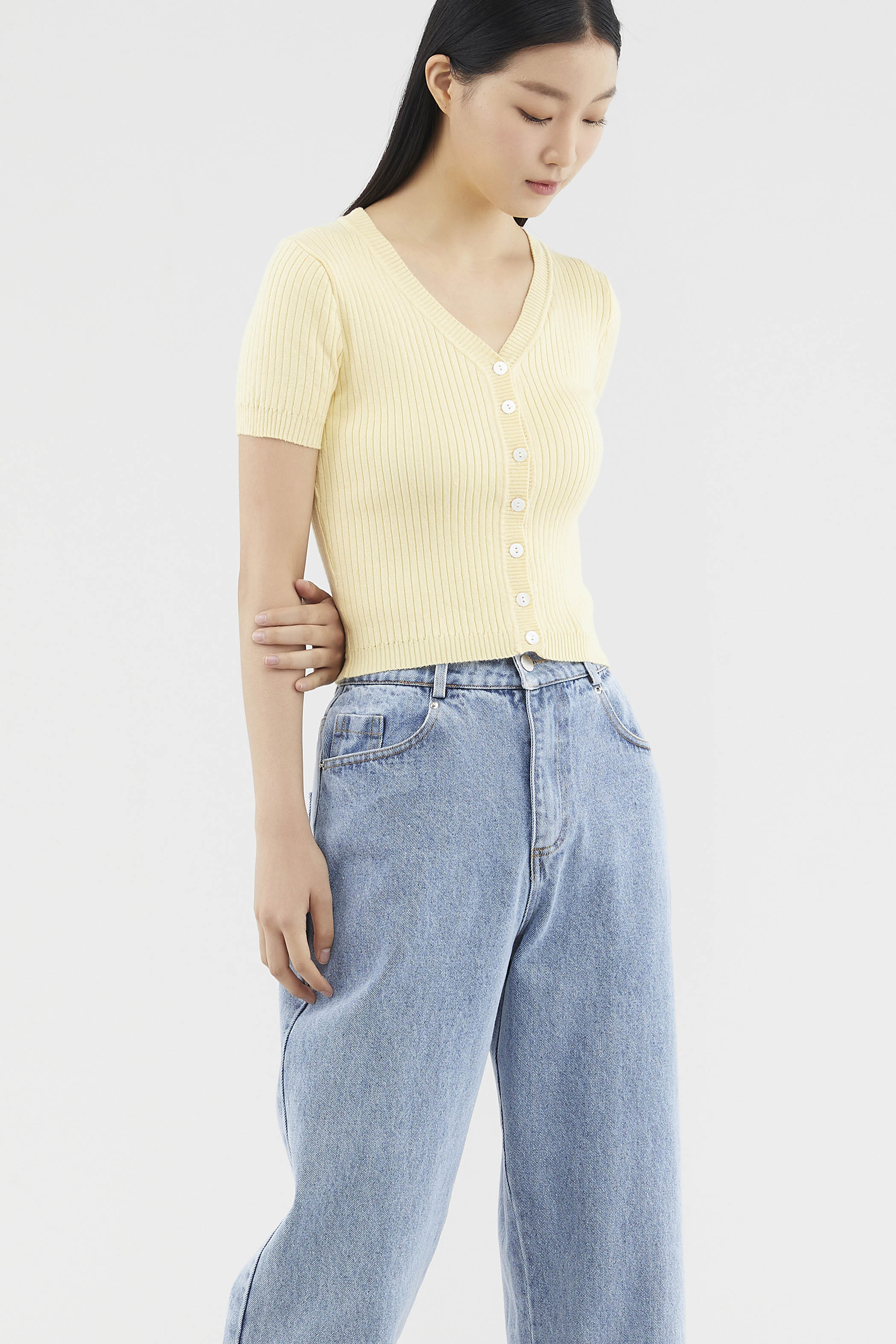Tamila Knit Crop Top