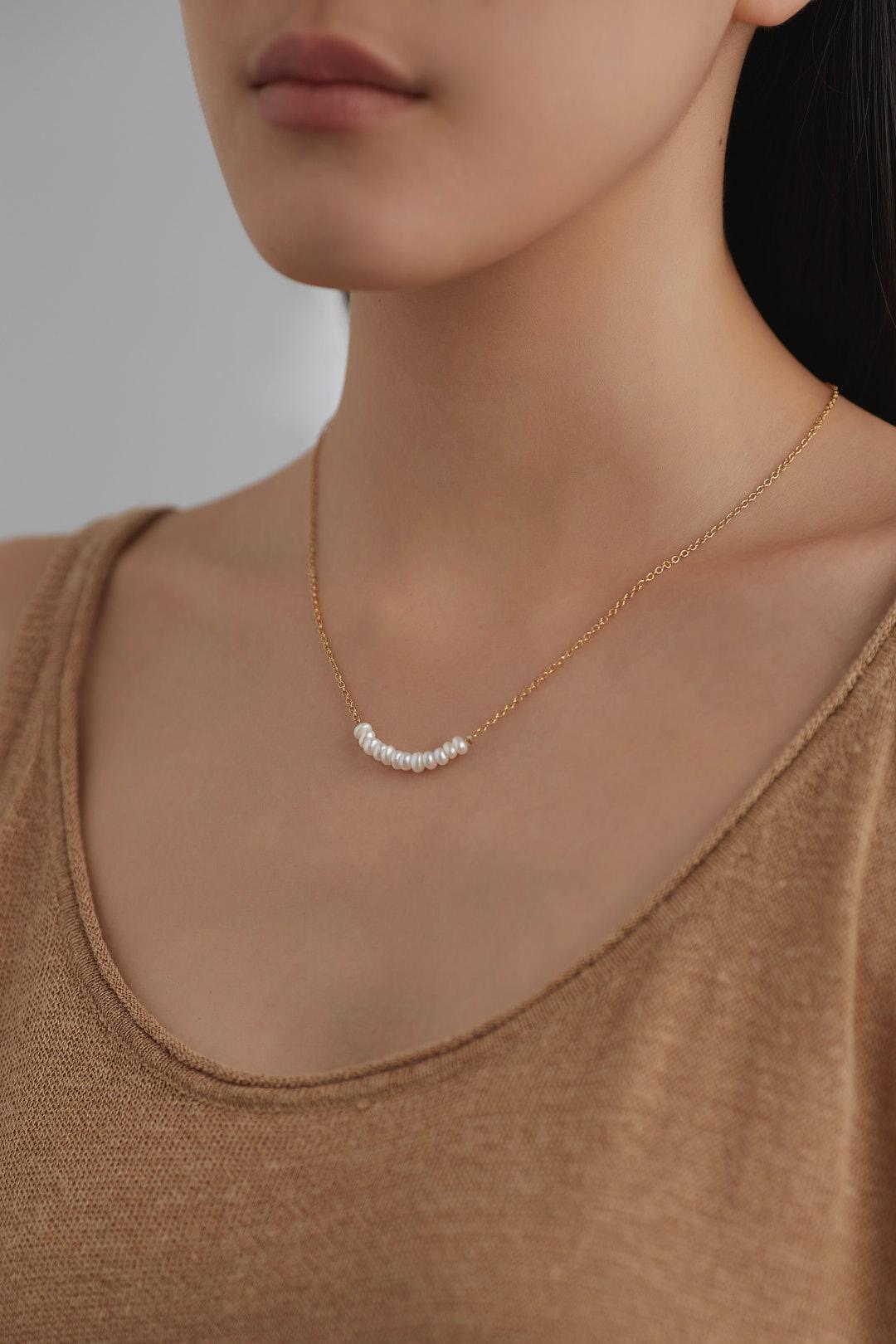 Juliane Pearl Necklace