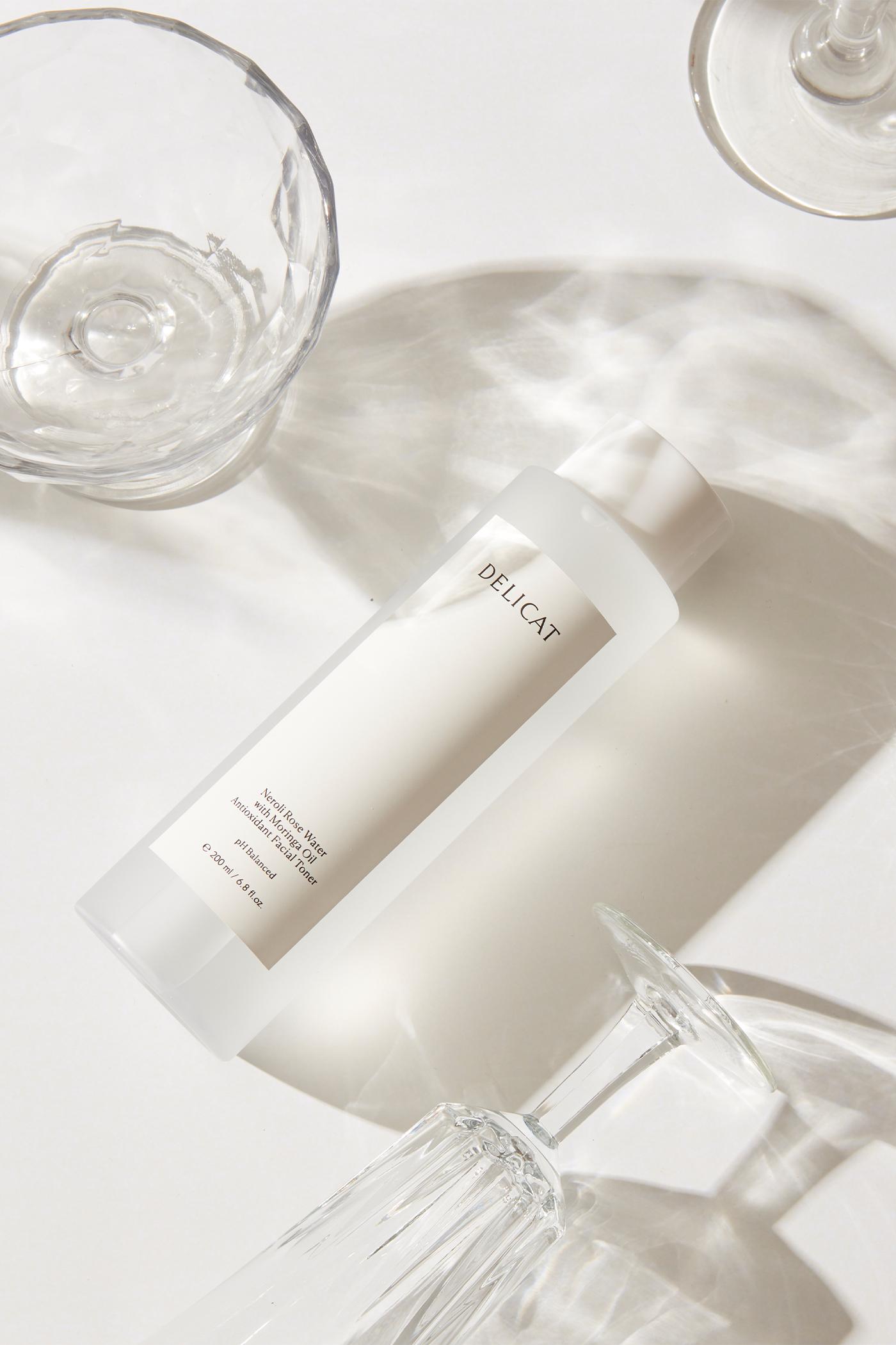 Delicat Neroli Rose Water with Moringa Oil Facial Toner
