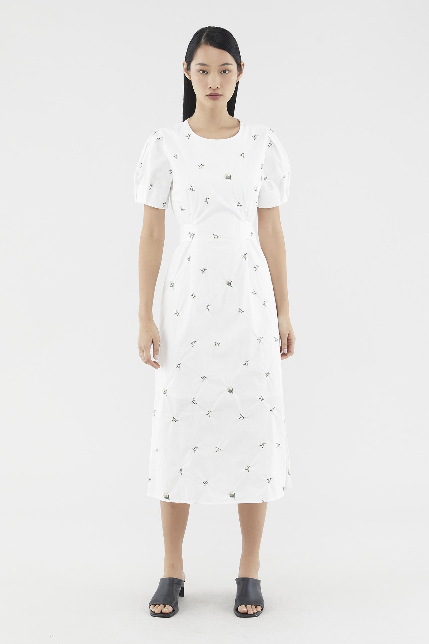 Kalmen Broderie Dress