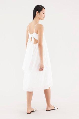 Labella Broderie Back-tie Dress