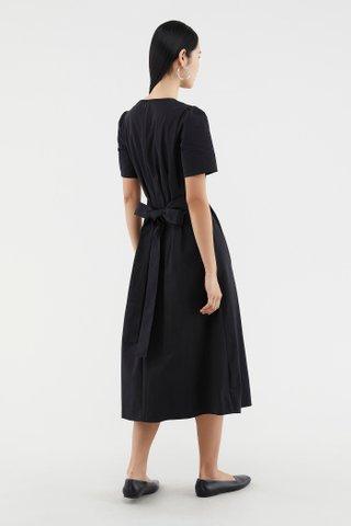 Krislynn Box-pleat Dress