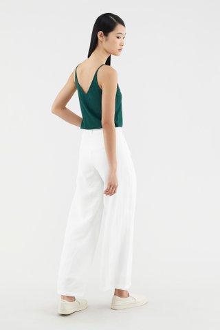 Sheyla V-neck Knit Top