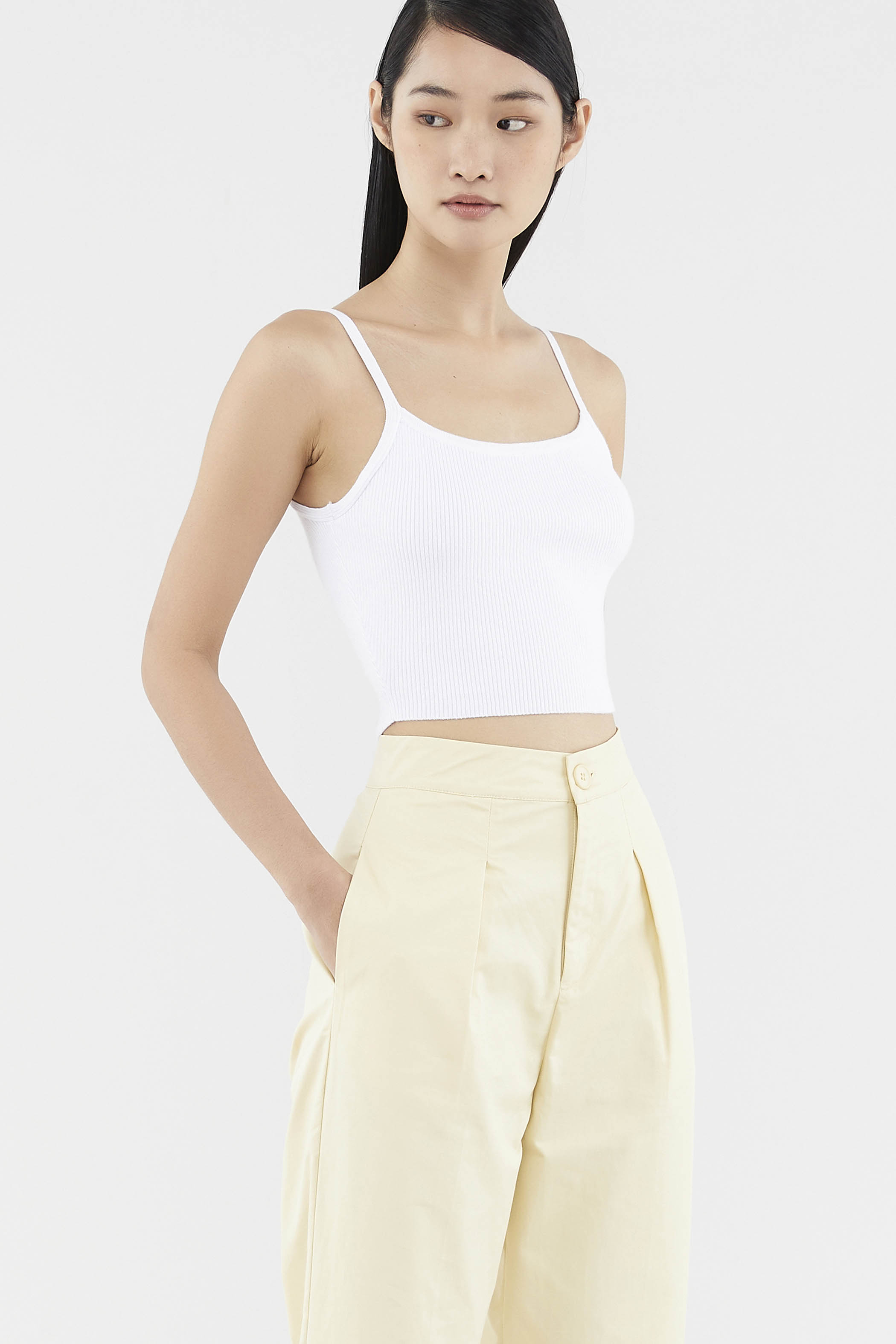 Cadara Knit Crop Top