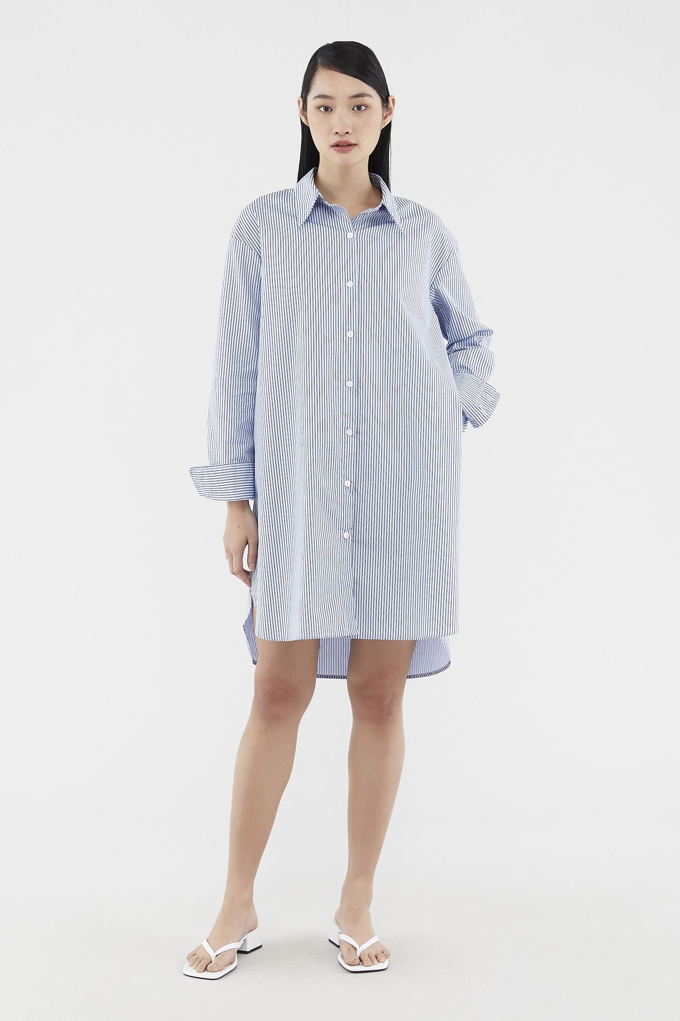 Evander Shirtdress