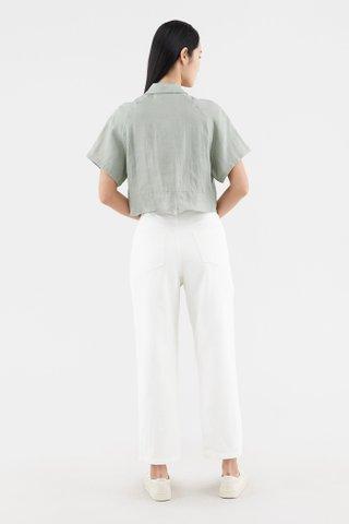 Jiselle Front-tie Shirt