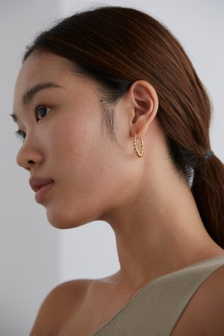 Muni Hoop Earrings