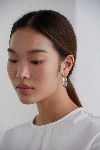 Santo Hoop Earrings