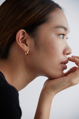 Olena Hoop Earrings