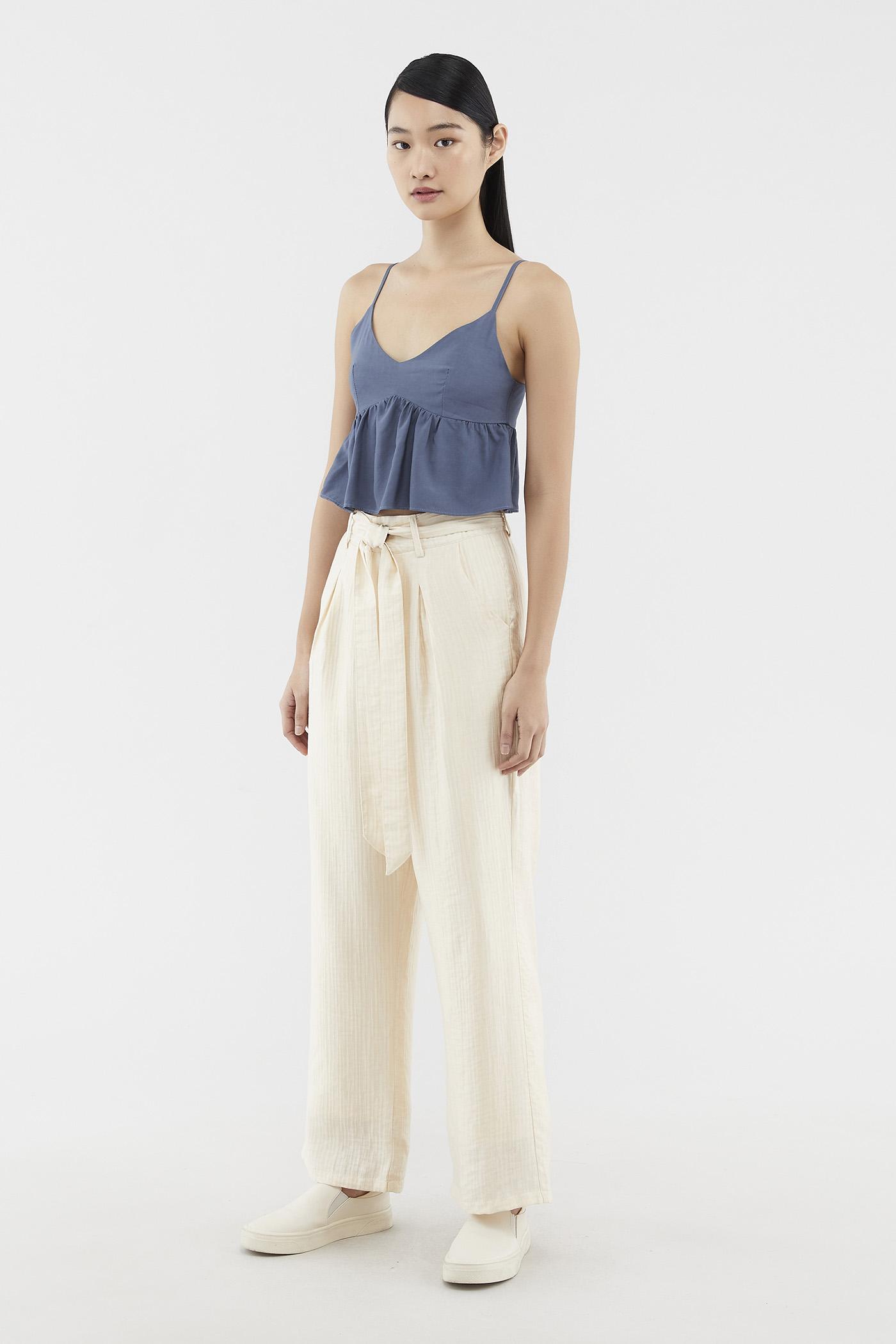 Lyza Textured Pants