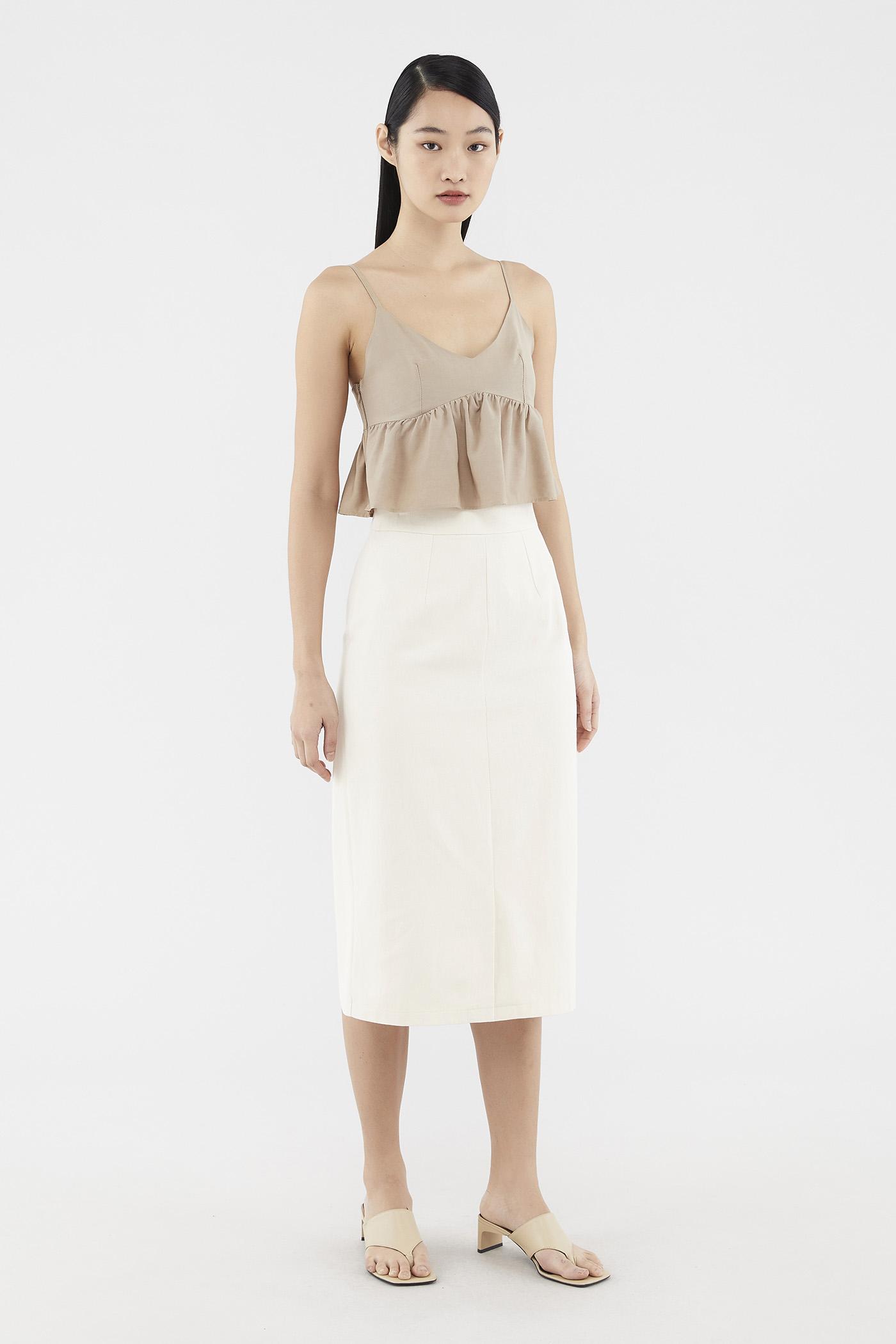 Sherlie Front-slit Skirt