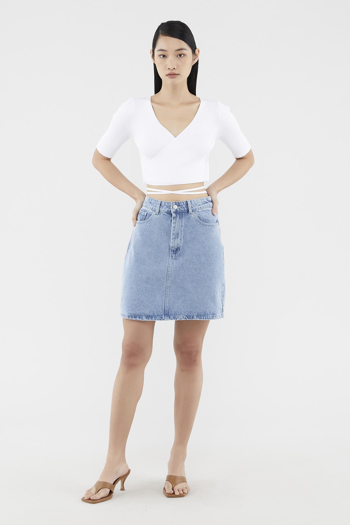 Lavella Denim Skirt