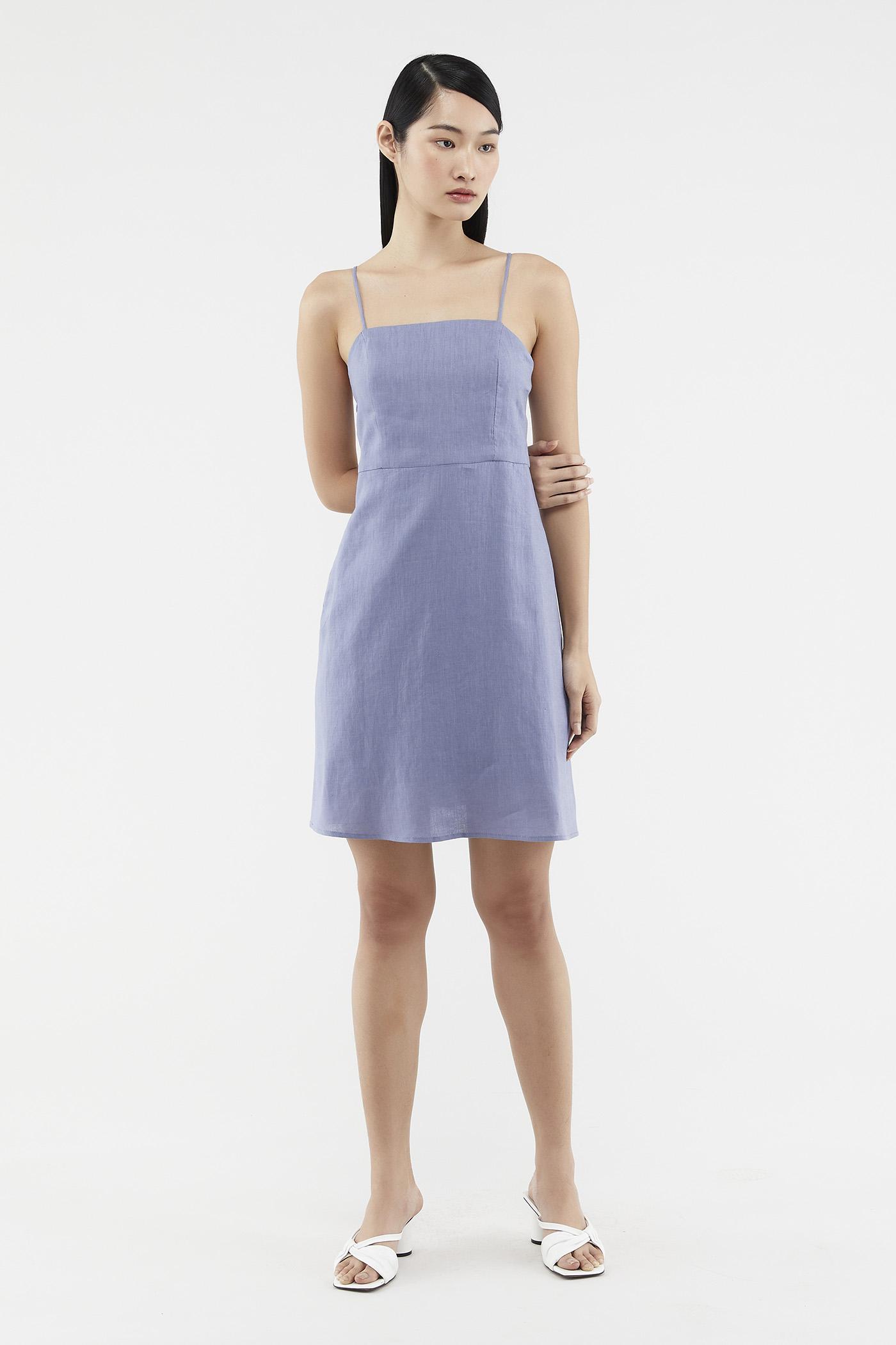 Veera Linen Mini Dress