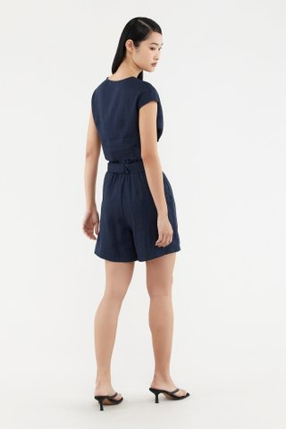 Ofilia Linen Shorts