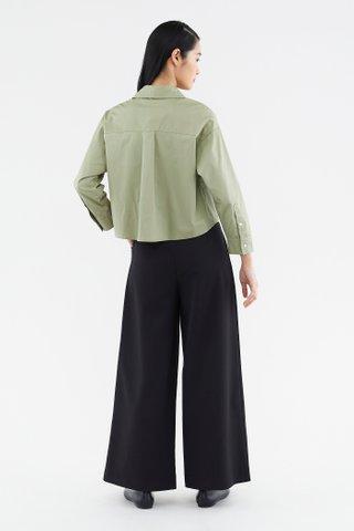 Kaycie Crop Shirt