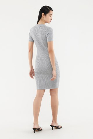 Raelee Collared Knit Dress
