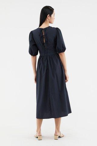 Antonia Back-tie Dress