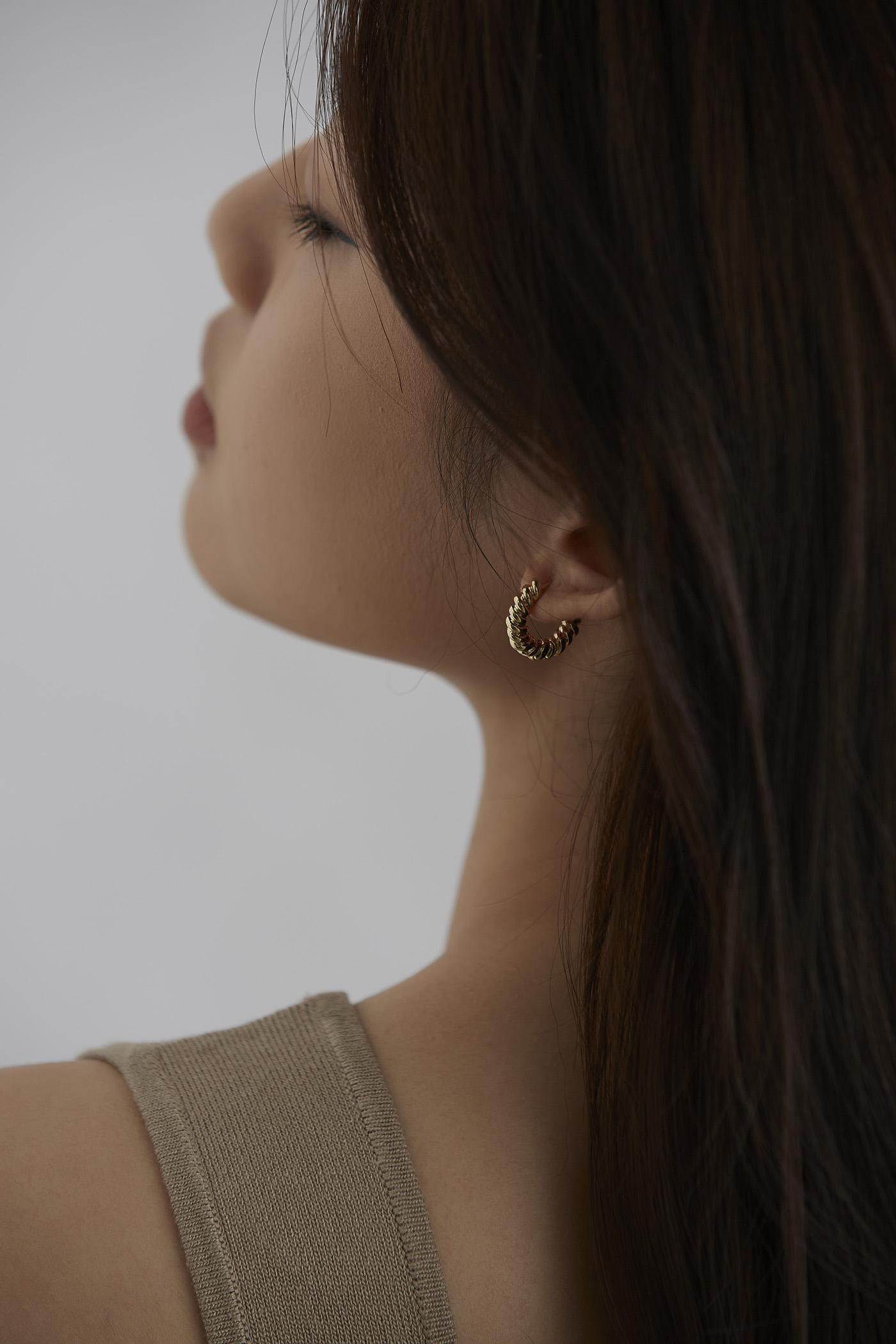 Mason Hoop Earrings
