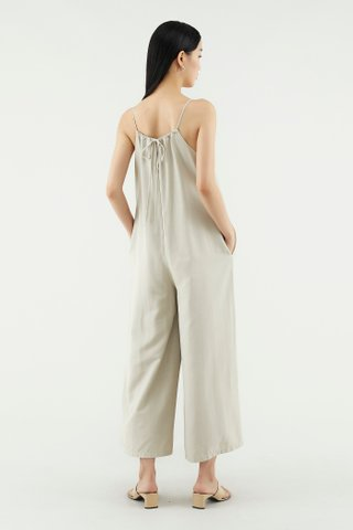 Hollee Ruched Jumpsuit