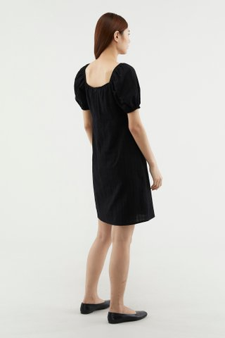 Tiffni Puff-sleeve Dress